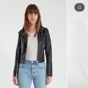 Blank nyc The Essentials Faux Leather Moto Jacket